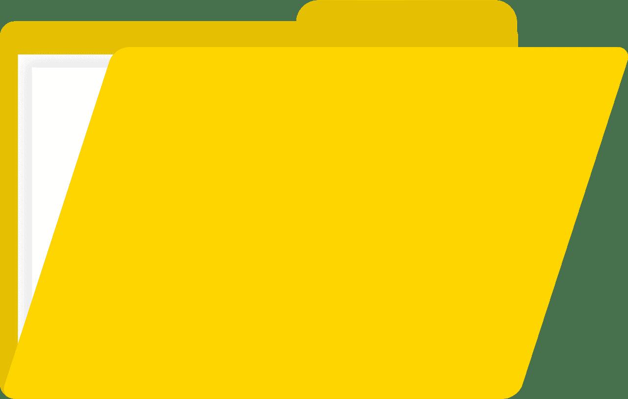 Folder clipart transparent 8