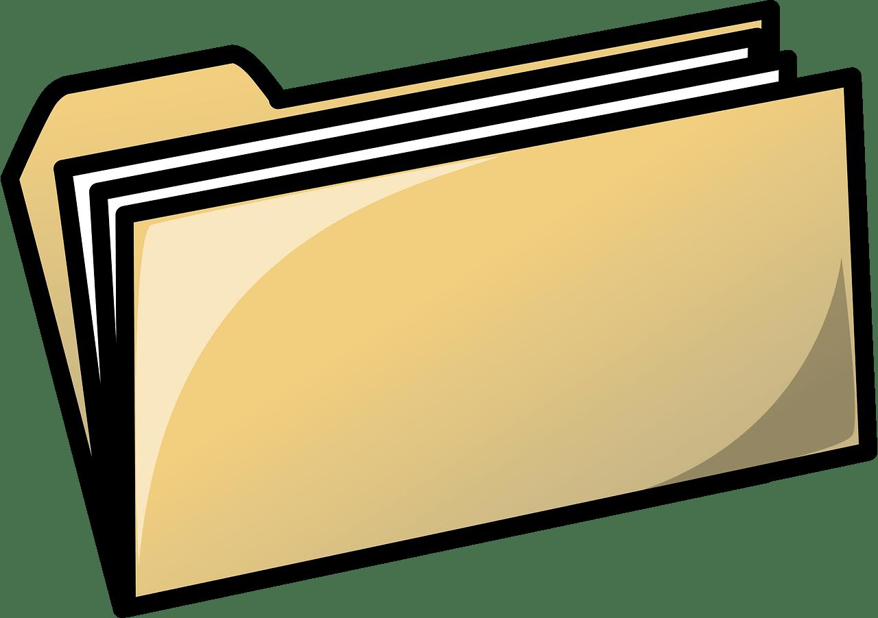 Folder clipart transparent background 3