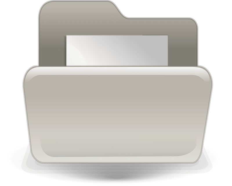 Folder clipart transparent background 8