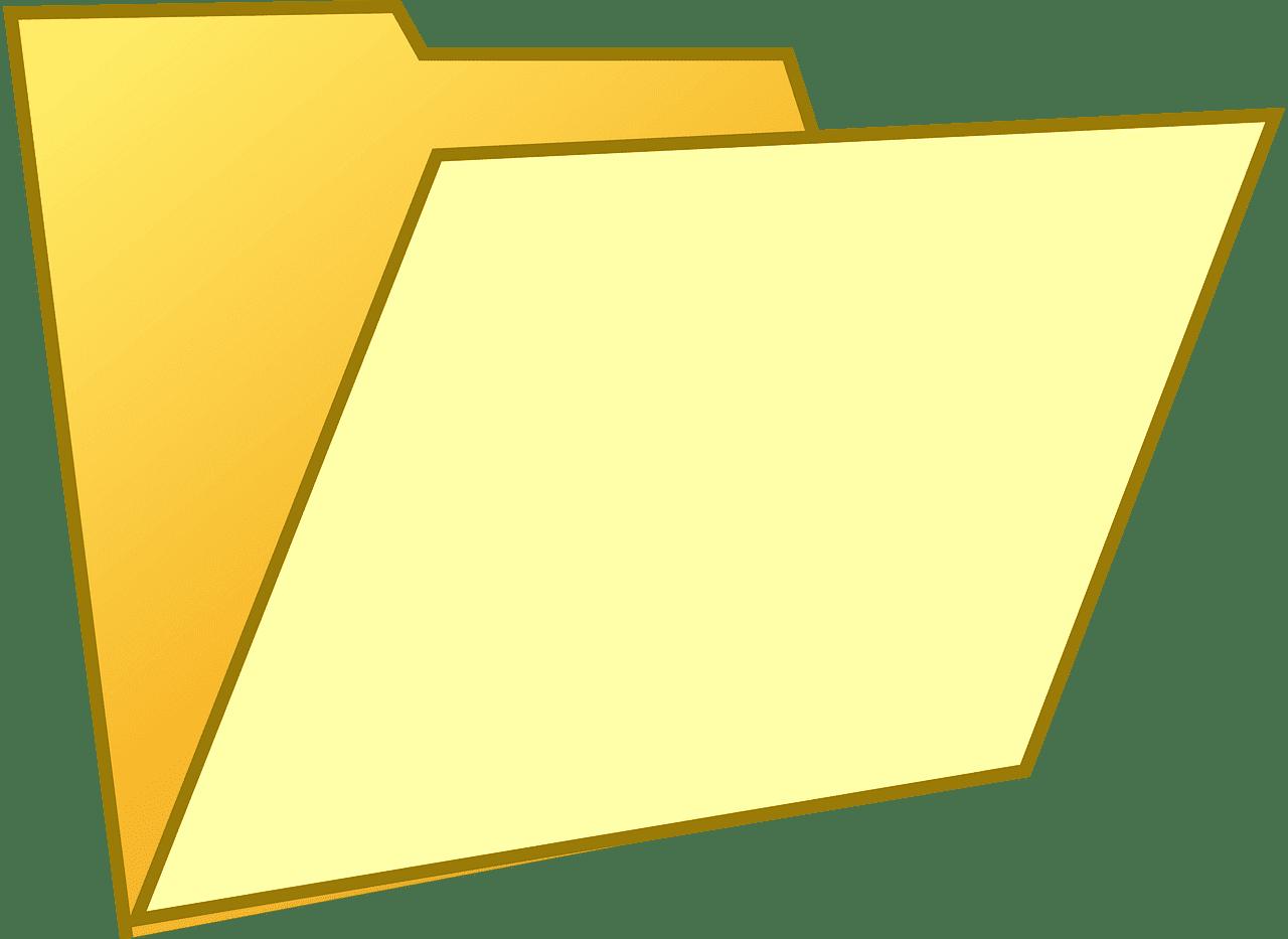 Folder clipart transparent background