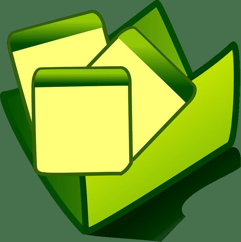Folder clipart transparent for kids