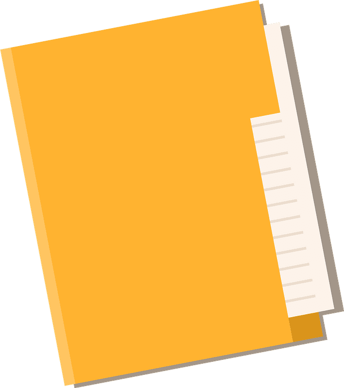 Folder clipart transparent free