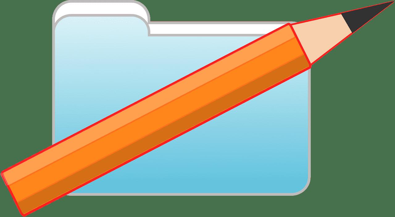 Folder clipart transparent image