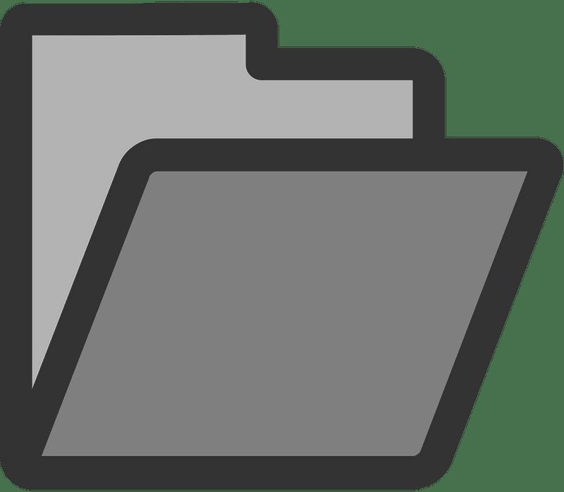 Folder clipart transparent images