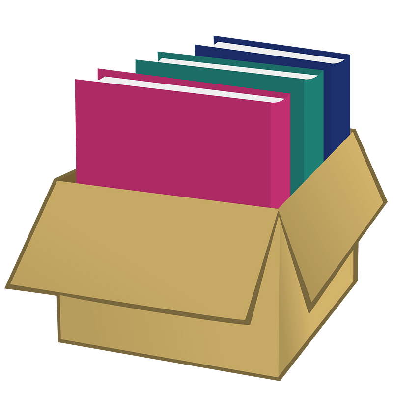 Folders clipart transparent