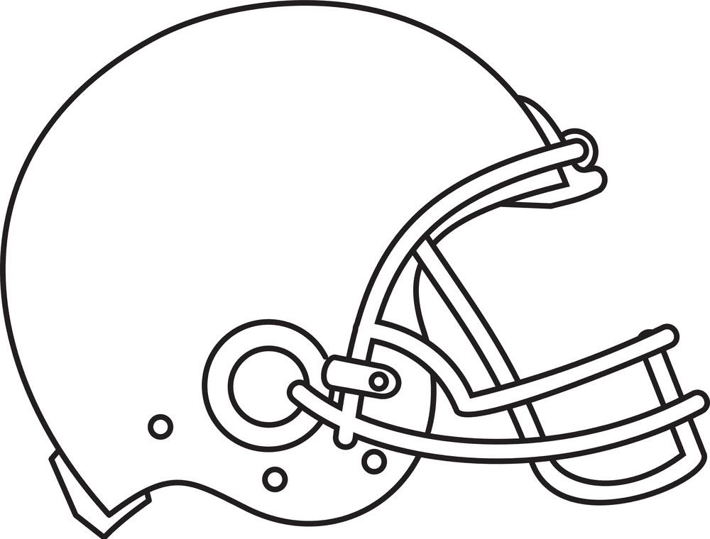 Football Helmet clipart for kids