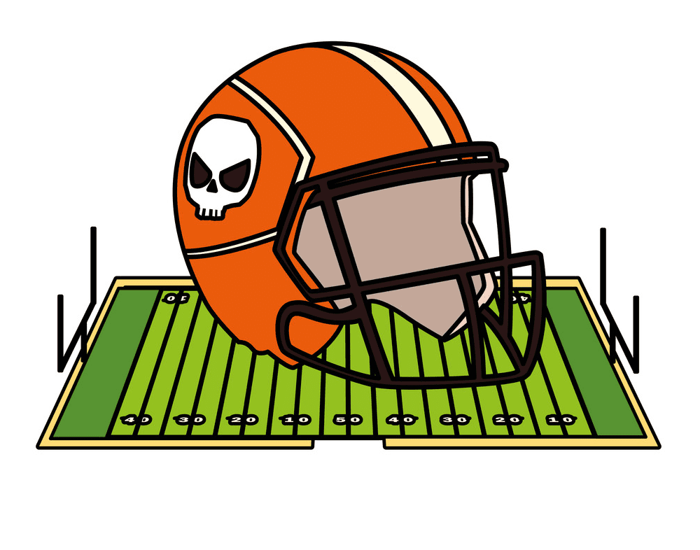 Football Helmet clipart free 10
