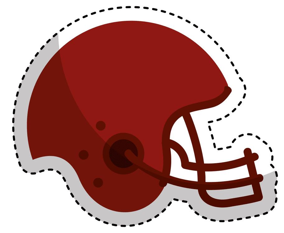 Football Helmet clipart free 2