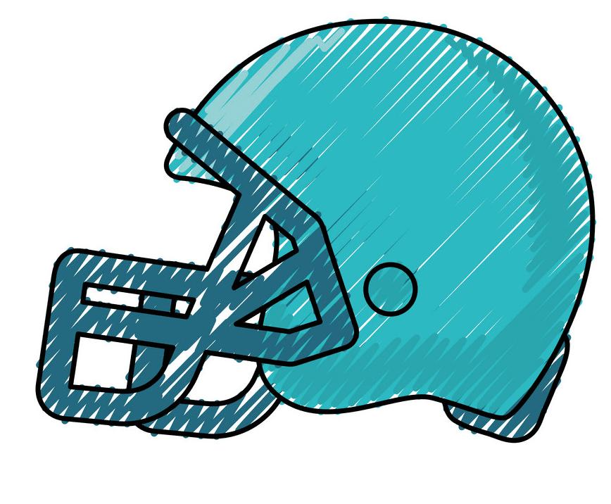 Football Helmet clipart free 4