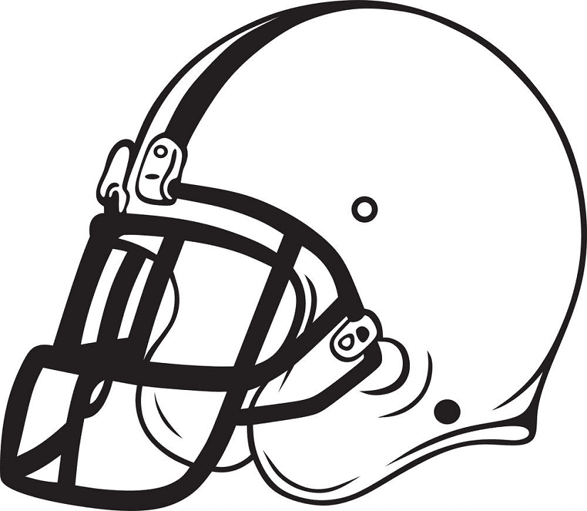 Football Helmet clipart free 6