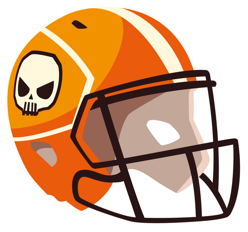 Football Helmet clipart free 8