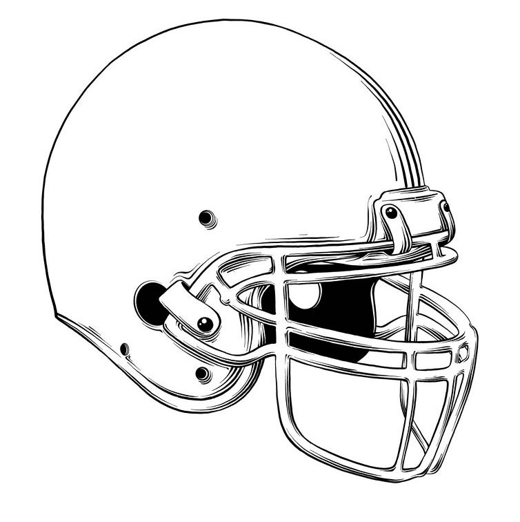 Football Helmet clipart free 9