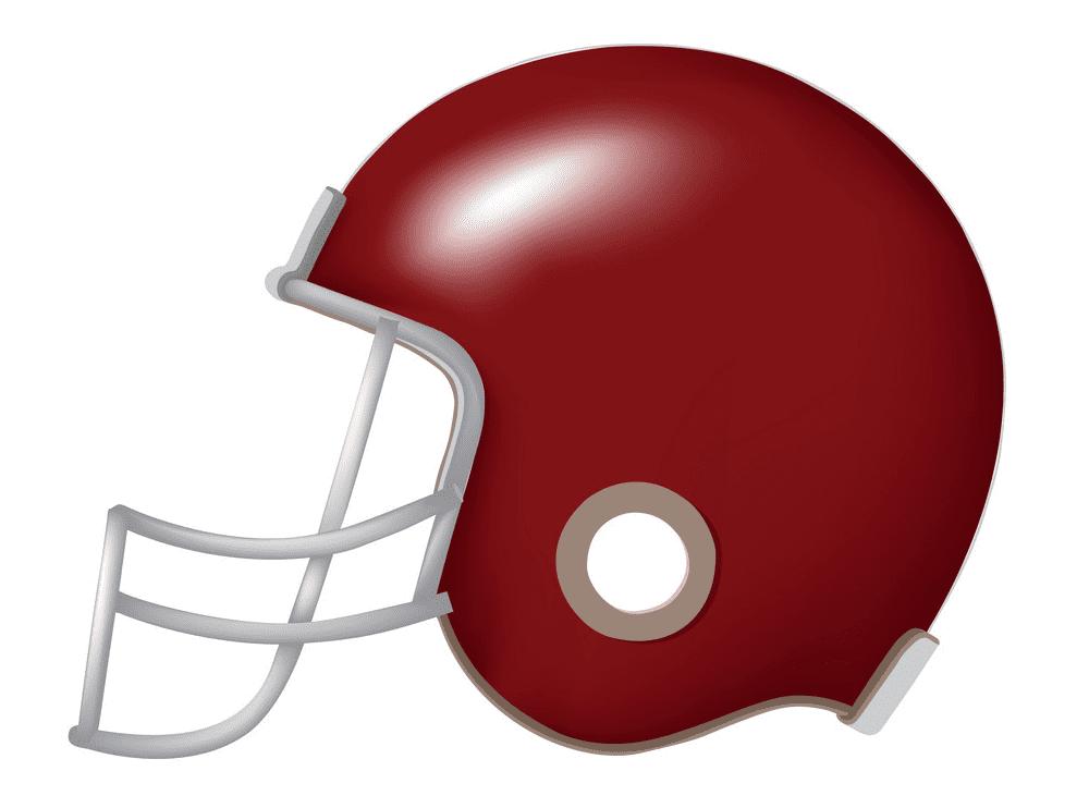 Football Helmet clipart free for kid