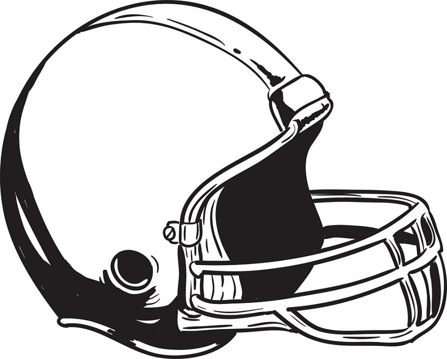 Football Helmet clipart free image