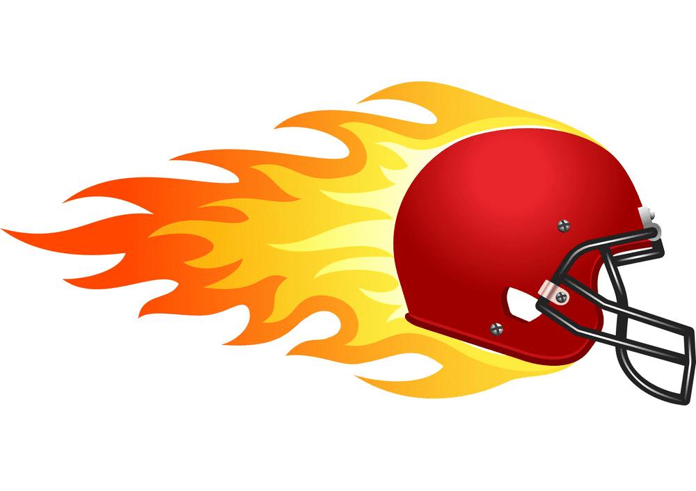 Football Helmet clipart free images