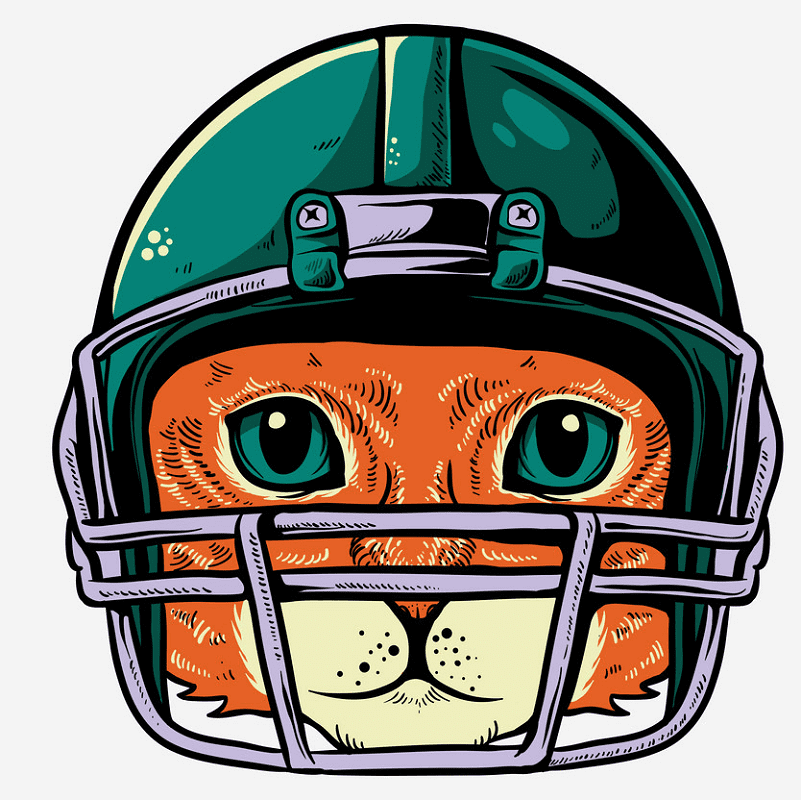 Football Helmet clipart free picture