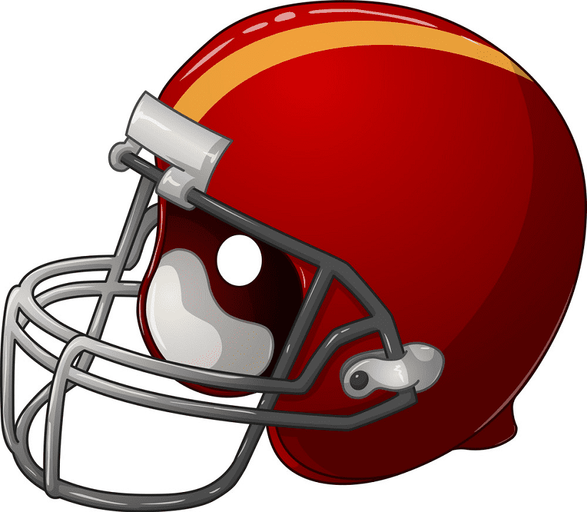 Football Helmet clipart free