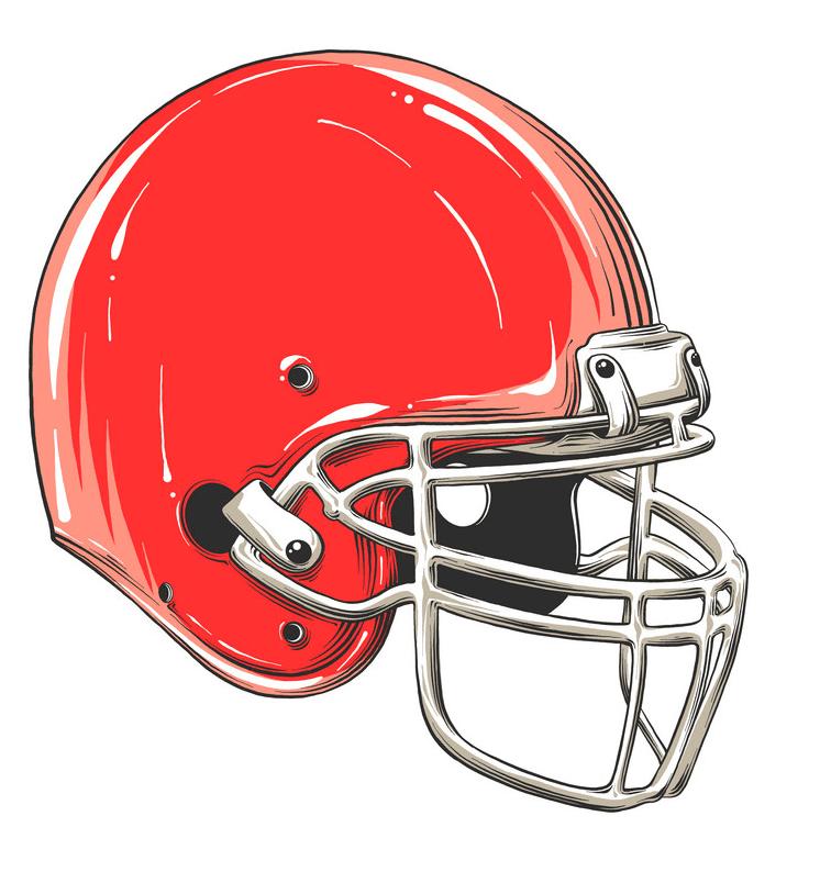 Football Helmet clipart image