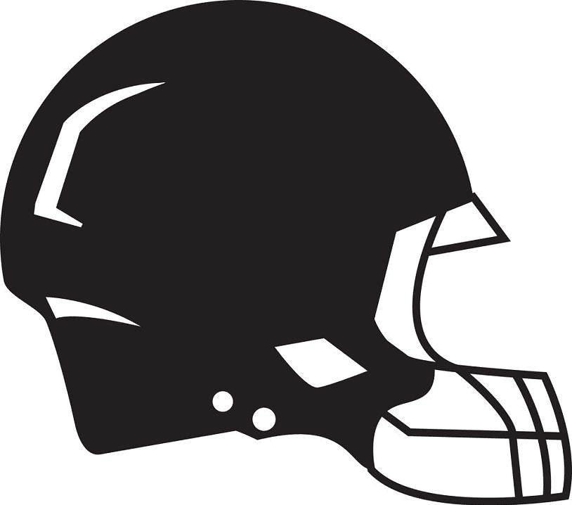 Football Helmet clipart png for kid