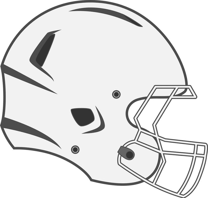 Football Helmet clipart png free