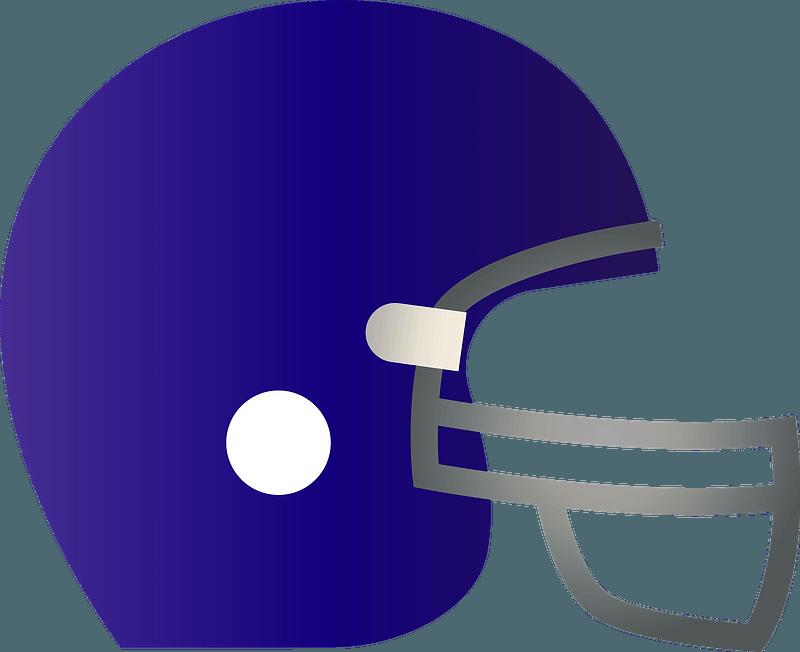 Football Helmet clipart transparent 1