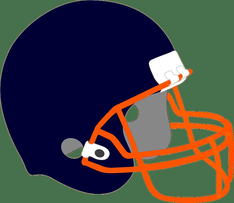 Football Helmet clipart transparent 10