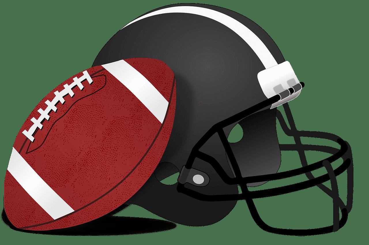 Football Helmet clipart transparent 2