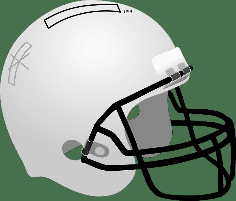 Football Helmet clipart transparent 3