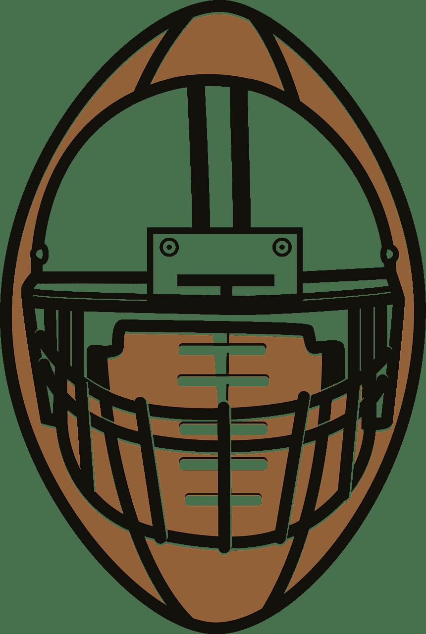 Football Helmet clipart transparent 4