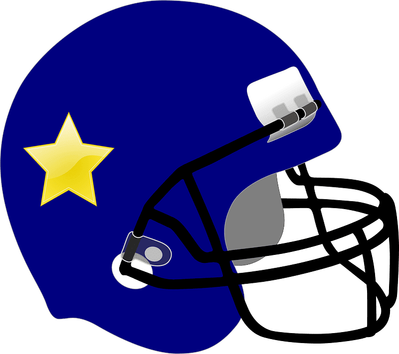 Football Helmet clipart transparent 7