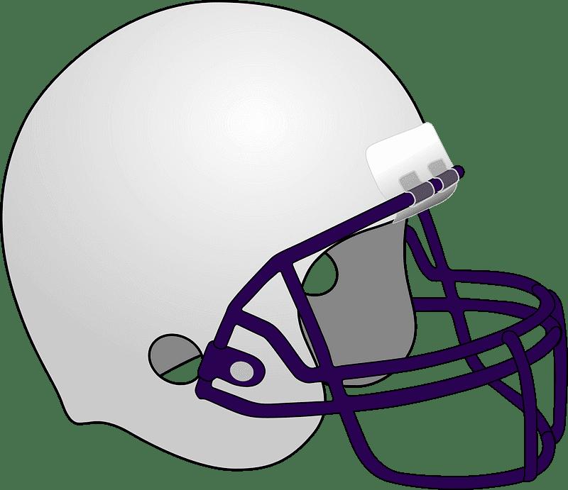 Football Helmet clipart transparent background 1