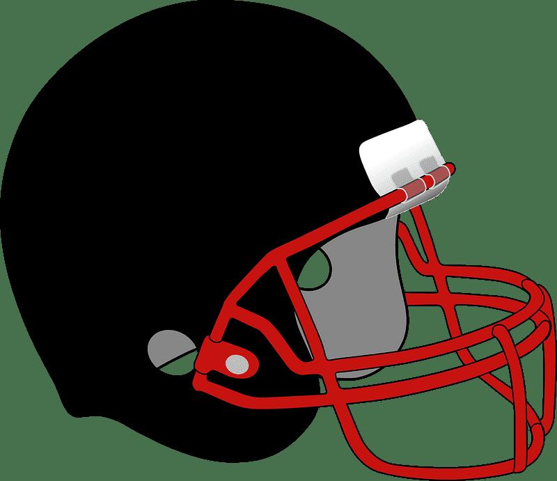 Football Helmet clipart transparent background 2