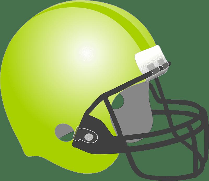 Football Helmet clipart transparent background 3