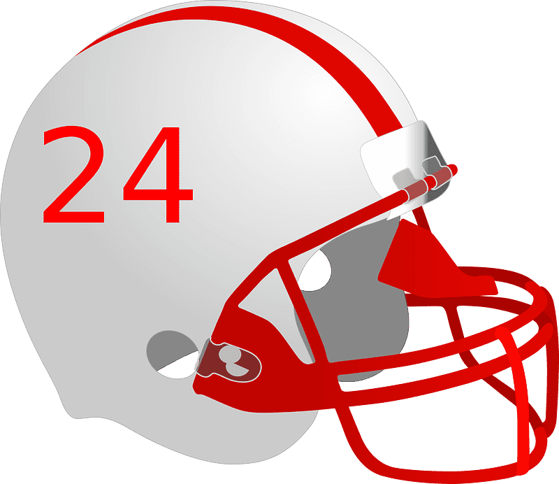 Football Helmet clipart transparent background 5