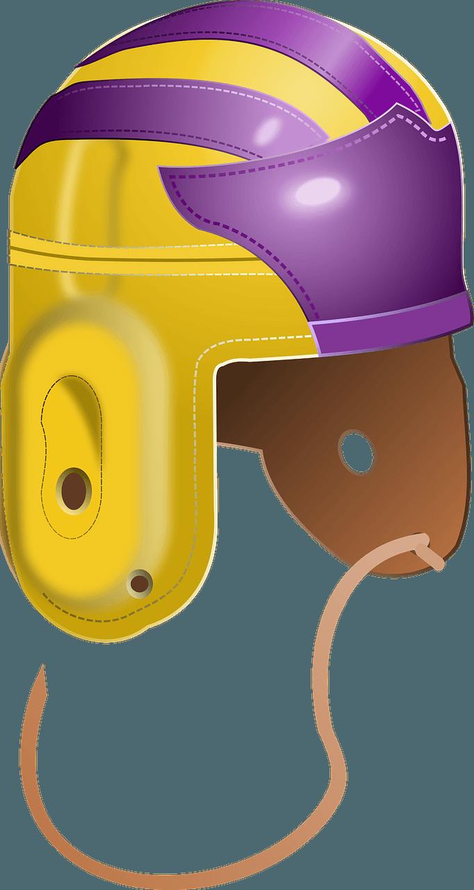 Football Helmet clipart transparent for free