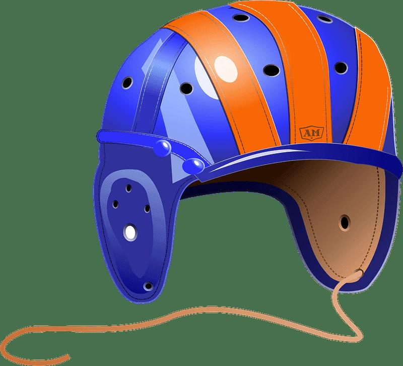 Football Helmet clipart transparent free