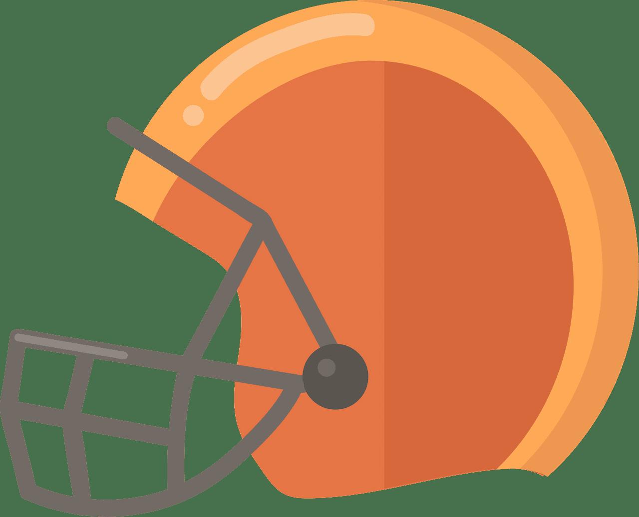 Football Helmet clipart transparent images