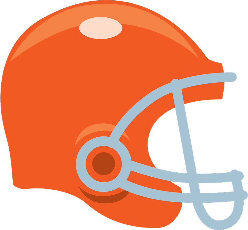 Football Helmet clipart transparent picture
