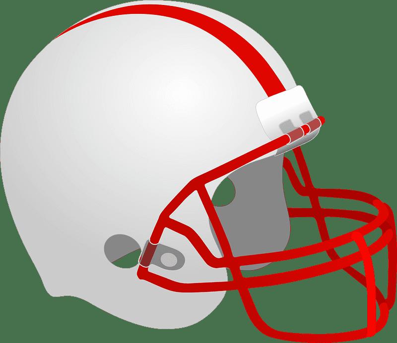 Football Helmet clipart transparent