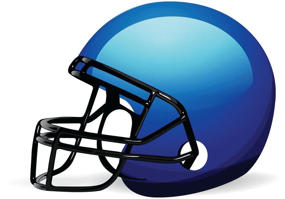 Free Football Helmet clipart 1