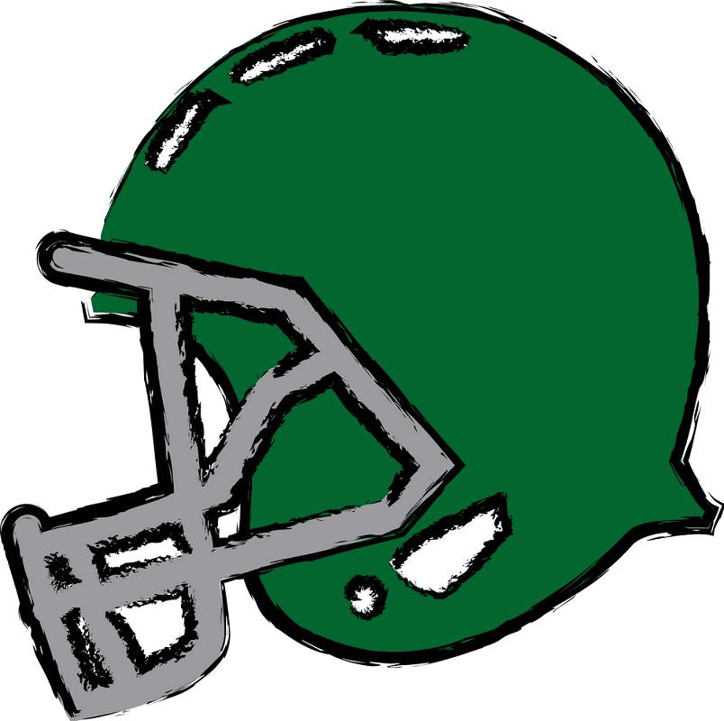 Free Football Helmet clipart 2