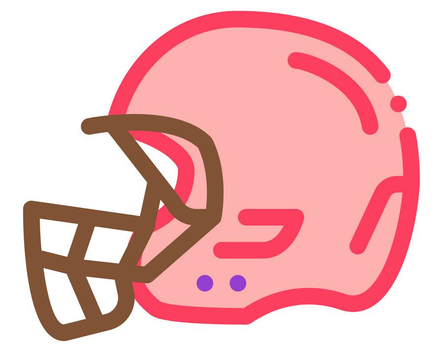 Free Football Helmet clipart 3