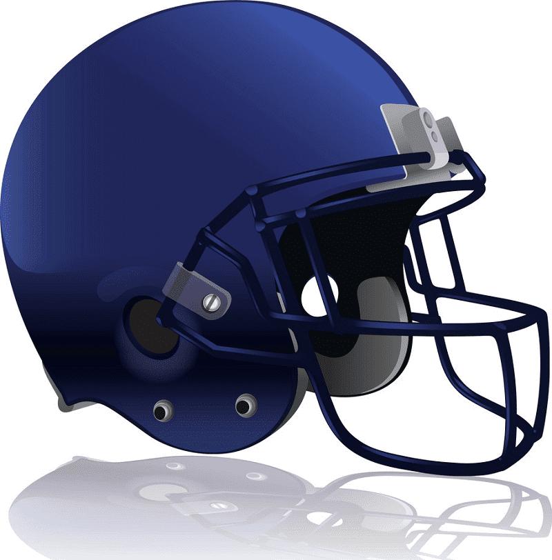 Free Football Helmet clipart download