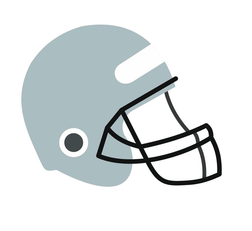 Free Football Helmet clipart image