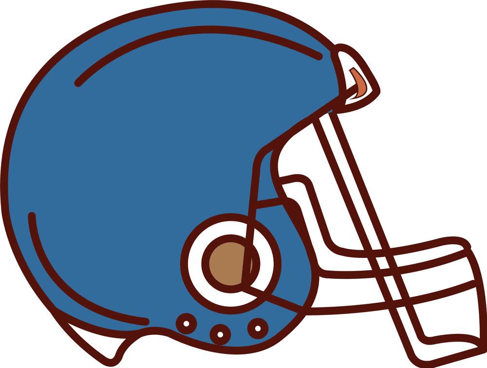 Free Football Helmet clipart images