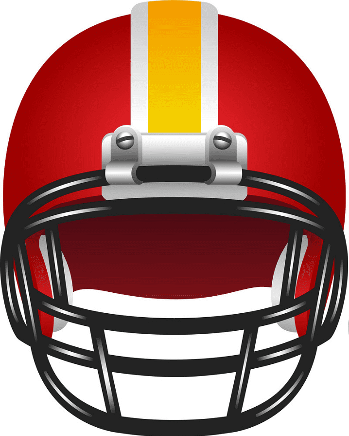 Free Football Helmet clipart picture