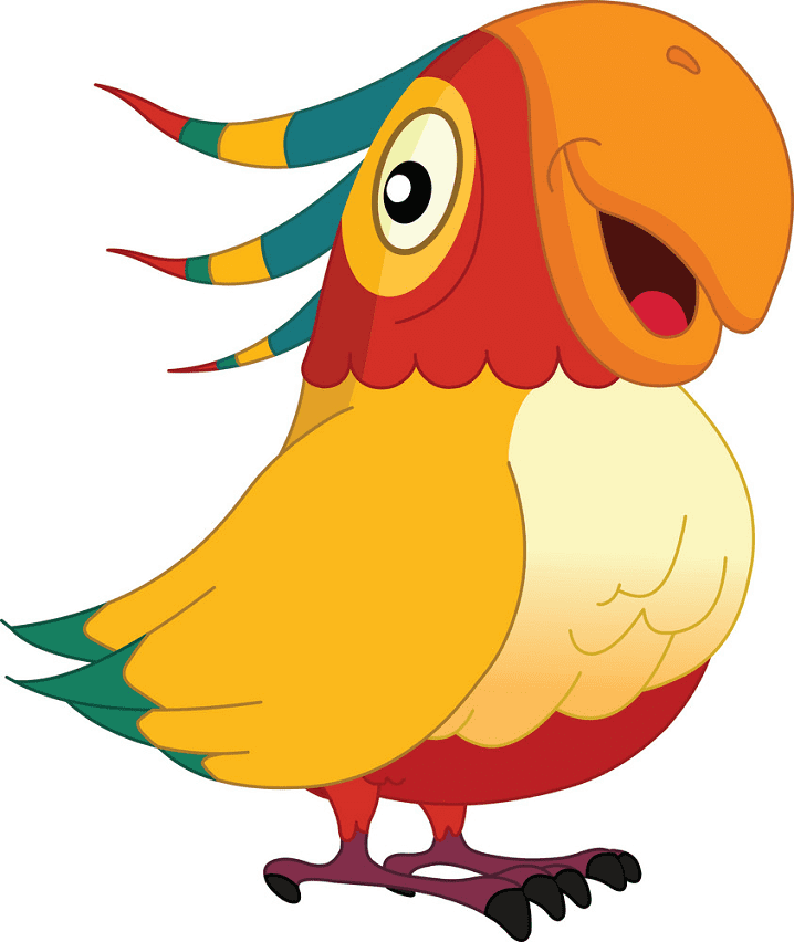 Free Parrot clipart images