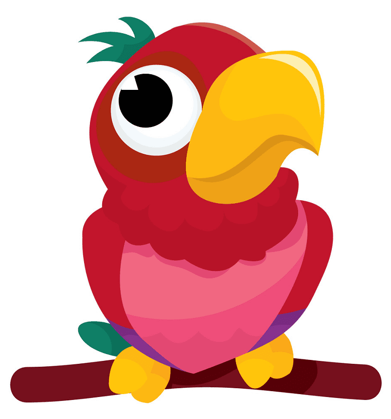 Free Parrot clipart picture