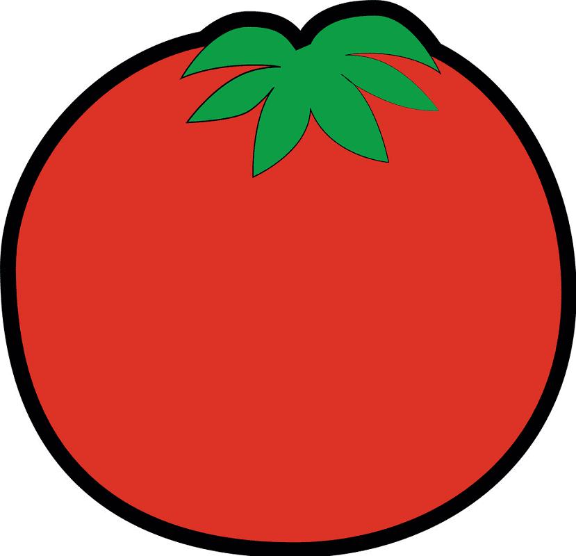 Free Tomato clipart image