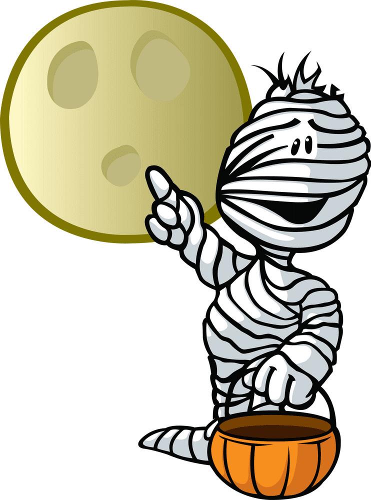 Halloween Mummy clipart free